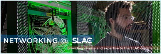 IT Network Support at SLAC Welcome Graphic